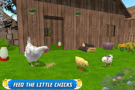 New Hen Family Simulator: Chicken Farming Games apkpoly screenshots 16