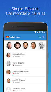 Hola Phone - Call Recorder & Caller ID - náhled