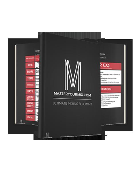 Ultimate Mixing Blueprint - EQ Cheat Sheet