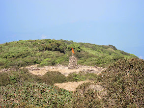 Photo: Yes.. peak of Kumara Parvata almost visible