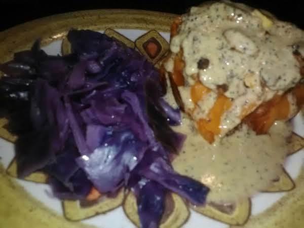 Chicken Broth Purple Cabbage