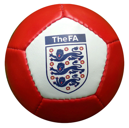 Custom Printed Mini Footballs Red