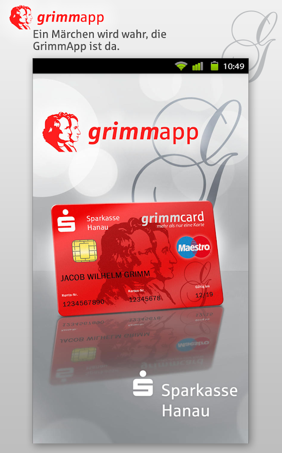 GrimmApp- screenshot
