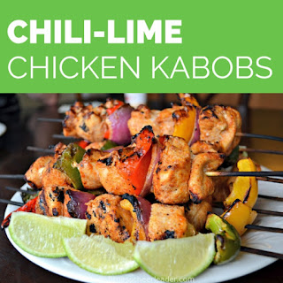 Chili-Lime Chicken with Veggie Kabobs