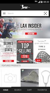 Lax.com - náhled