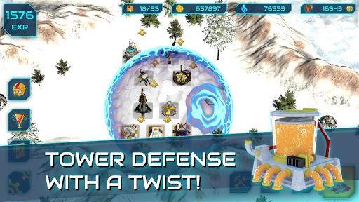 Boulder Base - Futuristic Castle Defense  screenshots 5
