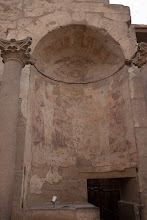 Photo: luxor temple, inner chamber ?.  Roman era niche
