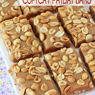 Copycat Payday Candy Bars.