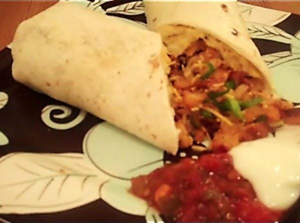 Loaded Breakfast Burritos Recipe