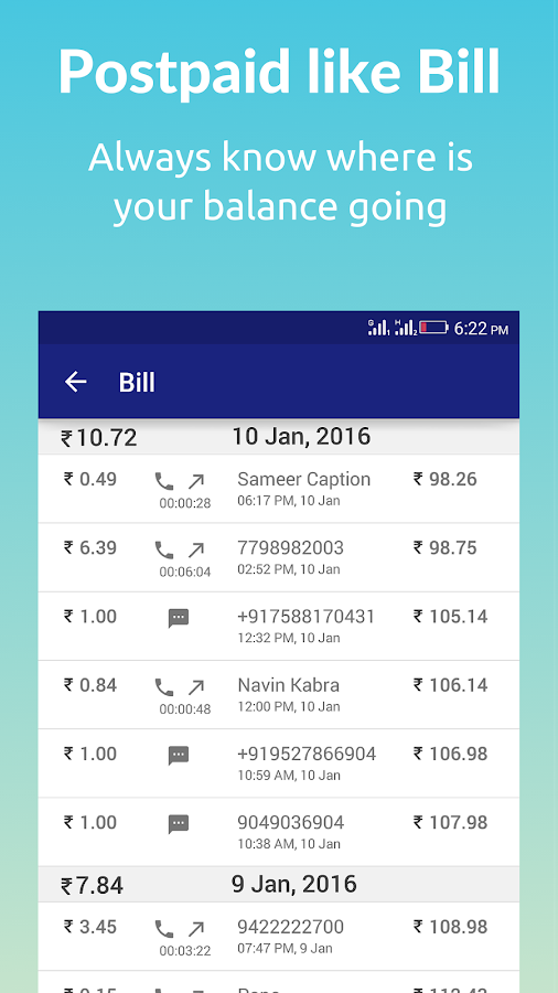 smartbro Prepaid Tracker- screenshot