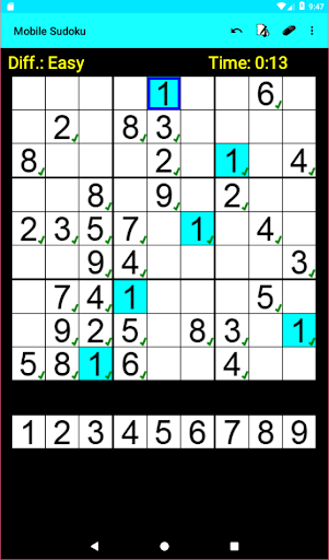 Mobile Sudoku 1.13.14 screenshots 7