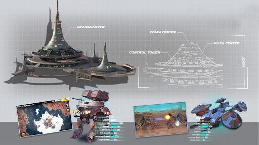 Ark of War: Galaxy Pirate Fleet  captures d'u00e9cran 11