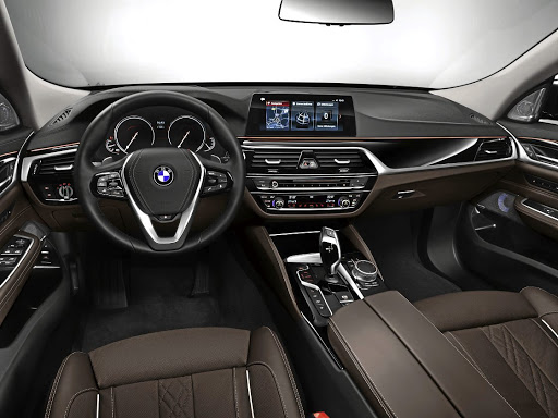 The interior features more tech and more space.   Picture: BMW