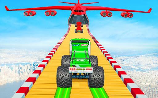 Ramp Monster Truck Stunts:New Racing Games 1.11 screenshots 4