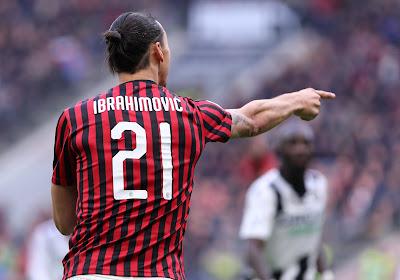 """Zlatan Ibrahimovic devrait déjà dire un nouvel au-revoir à """"son"""" AC Milan"""