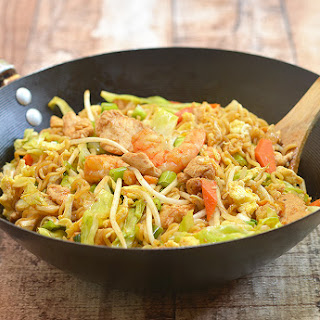 Chinese Noodles Shrimp Recipes