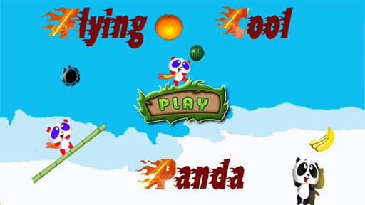Flying Cool Panda