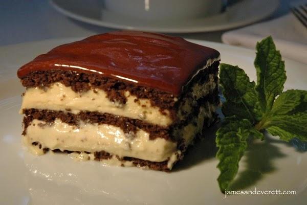 Peanut Butter Chocolate Eclair Cake Recipe 2 | Just A Pinch