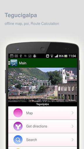 Tegucigalpa Map offline
