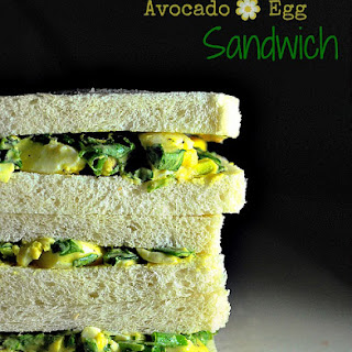 Avocado Egg Salad Sandwich | Egg Sandwich.