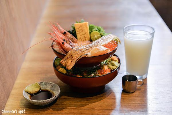 台南東區-毛丼 丼飯專門店 巷弄中的古厝新裝 新鮮日式風格海鮮丼