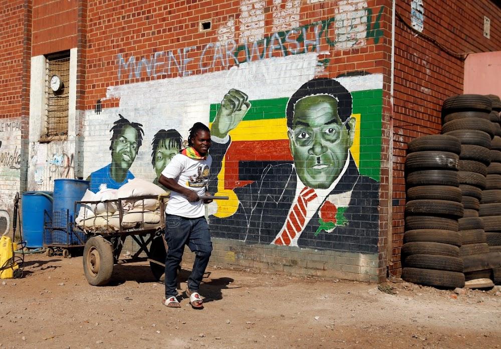 In Zimbabwe is daar gevoelens oor Robert Mugabe se dood