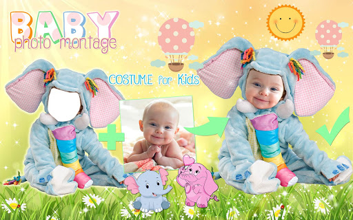 Cute Baby Photo Montage App ud83dudc76 Costume for Kids 1.1 screenshots 12