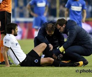 Pech voor Club Brugge: seizoen van Poulain is wellicht voorbij