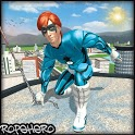 Police Rope Hero: Superhero Adventure icon