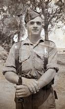 Photo: Militar. Proveedor: Raquel Ventureira. Año: 1955.
