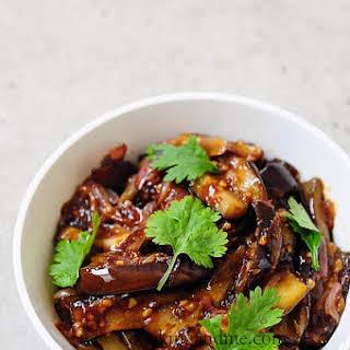 Szechuan Eggplant.