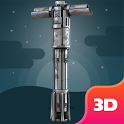 3D  Lightsaber Game Experience icon
