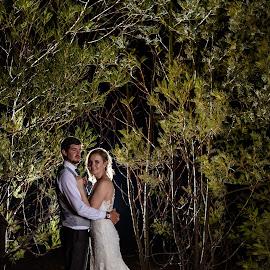 Night shoot by Freek du Toit - Wedding Bride & Groom ( #tamron, #nikon, #wedding, #night, #couple )