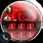 Love Rose Dialer Contact Theme