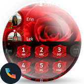 Love Rose Dialer Contact Theme