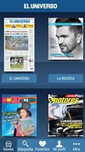 Quiosco Digital El Universo - náhled