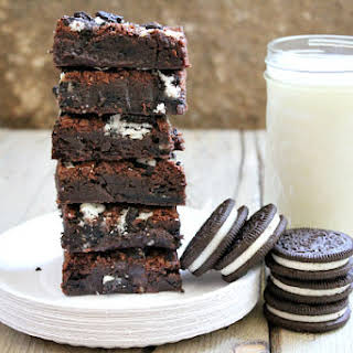 Best Oreo Brownies.