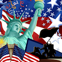 USA Independence Day Wallpaper icon