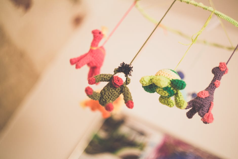 Baby's Knitted Mobile