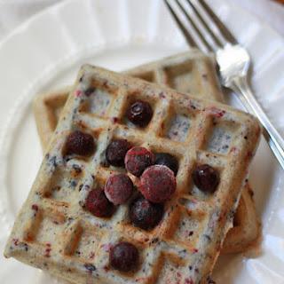 Very Berry Gluten Free Waffles (GF, DF)