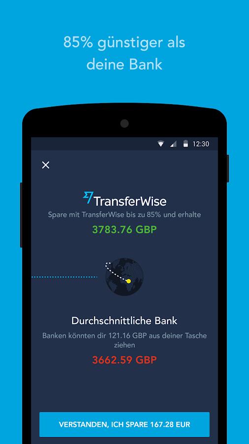 Transferwise Kreditkarte