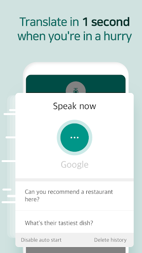 Talking Translator - Ultra-Simple Translation screenshots 10