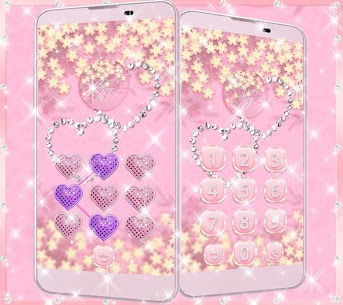 Theme Rose Gold Diamond 8