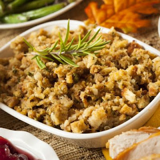 Last Night's Turkey And Stuffing Casserole