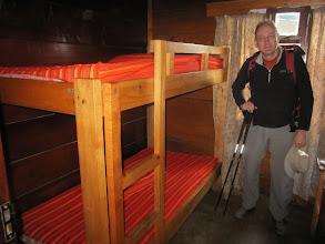 Photo: Peter in a Miriakamba Hut