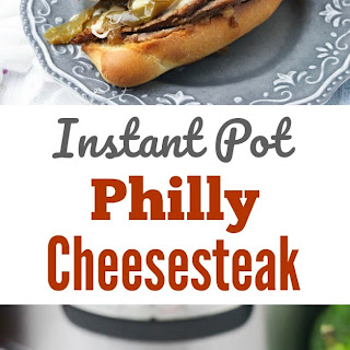 Instant Pot Philly Cheesesteak.