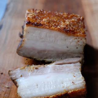 Heo Quay Recipe Sous Vide Crispy Pork Belly.