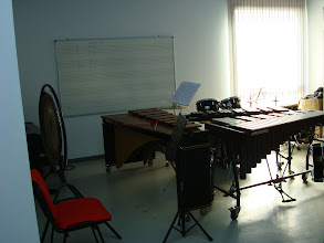 Photo: Aula de Percusión
