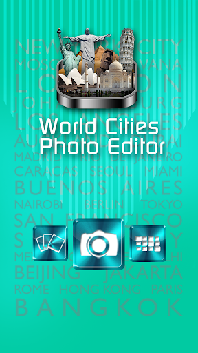 世界都市写真編集アプリ