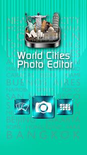 Světová města foto editor - náhled